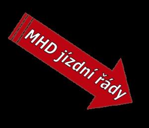 MHD šipka